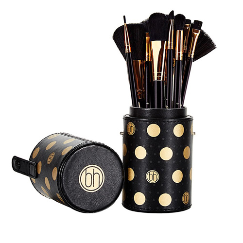 BH Dot Collection 11 Piece Brush Sets Black